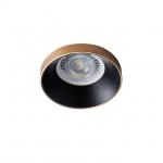 Светильник точечный SIMEN DSO G/B, золото/черный