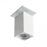 Светильник точечный спот CHIRO GU10 DTL-W, белый