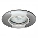 Светильник точечный AKRA CT-DS14PS/N, перламутрово-серебряный/никель
