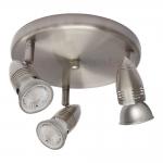 Светильник настенно-потолочный MOLI EL-3O, сатиновый хром