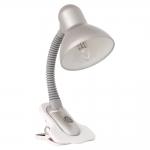 Лампа настольная SUZI HR-60-SR, серебристая