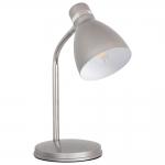 Лампа настольная ZARA HR-40-SR, серебристая