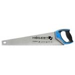 Пила-ножовка 500 мм, 7 TPI, закаленное, трехстороняя заточка HT3S206