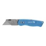 Нож складной с трапециевидным лезвием складной, алюминиевый корпус, 1 лезвие SKS HT4C623