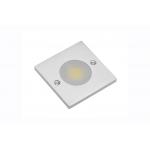 Светодиодный мебельный светильник COB JOVITA 3W, 3000K, квадратный, хром