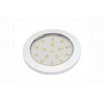 Светодиодный мебельный светильник LUMINO 1,5W, 4000K, белый глянец