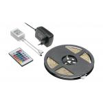 Комплект RGB - LED лента 5м, контроллер, трансформатор, пульт