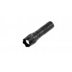 Карманный фонарик LED – ZOOM, SOS, 5W IP44 черный