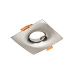 Светильник точечный AURORA квадратный, сатин