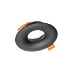 Светильник точечный AURORA круглый, черный