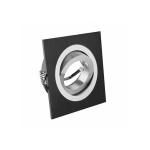 Светильник точечный поворотный MORENA квадратный, одиночный, черный