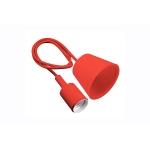 Подвесная лампа MINIO, E27, красная