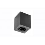 Светильник потолочный накладной SENSA квадратный, черный