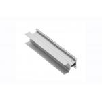 Алюминиевый профиль LED GLAX угловой двухсторонний узкий, 18мм, 3м, серебристый