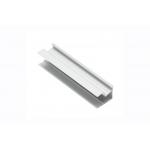 Алюминиевый профиль LED GLAX угловой односторонний узкий, 18мм, 3м, серебристый
