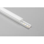 Алюминиевый профиль LED GLAX MINI накладной, 3м, белый