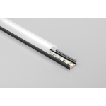 Алюминиевый профиль LED GLAX MINI накладной, 2м, черный