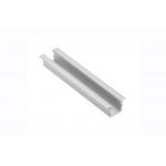 Алюминиевый профиль LED GLAX MINI врезной, высокий 12,5мм, 2м, черный
