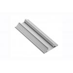 Алюминиевый профиль LED GLAX торцевой двухсторонний, 16мм, 2м, серебристый