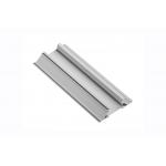 Алюминиевый профиль LED GLAX торцевой кромочный двухсторонний, 16мм, 3м, серебристый