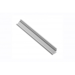 Алюминиевый профиль LED GLAX угловой накладной, 2м, черный