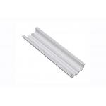 Алюминиевый профиль LED GLAX с регулировкой угла свечения, 2м, серебристый, внешний