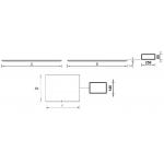 Светодиодная панель SLIM LED 595 4000K